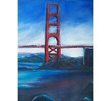 San francisco's Golden Gate Bridge Photographic Print
