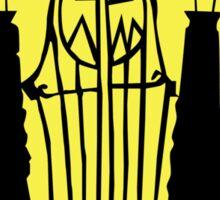 The Pumpkin King's Gate Sticker