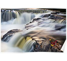 Bond Falls Whitewater Poster