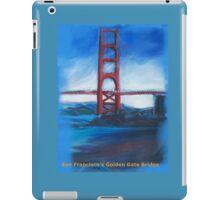 San francisco's Golden Gate Bridge iPad Case/Skin