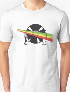 Red, Green and Gold (Ethiopia) Vinyl T-Shirt