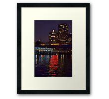 San Francisco Lights Framed Print