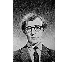 Woody Allen portrait Photographic Print