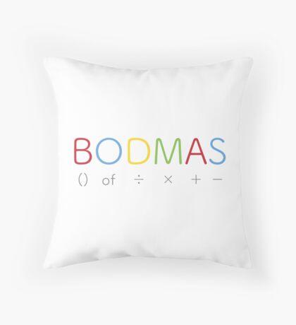 BODMAS - Math Rules Throw Pillow