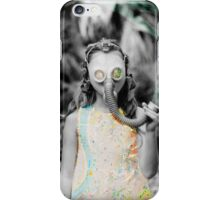 gas : girl iPhone Case/Skin