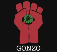Gonzo - Hunter S Thompson - Fear and Loathing - Fist by tshirtsfunny