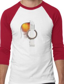 Colour Acoustic Guitar Hi-Lite Men's Baseball ¾ T-Shirt