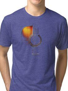 Colour Acoustic Guitar Hi-Lite Tri-blend T-Shirt