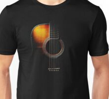 Colour Acoustic Guitar Hi-Lite Unisex T-Shirt