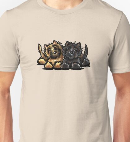 Two Cairn Terriers Unisex T-Shirt