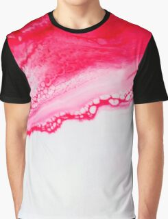 Pink & Red Webbing Graphic T-Shirt