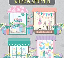 Let's Go Window Shopping by noondaydesign