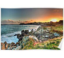 Omptolle Sunset Poster