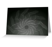 Designer Black and Red Vector Greeting Card