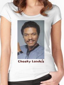 Cheeky Lando's Women's Fitted Scoop T-Shirt
