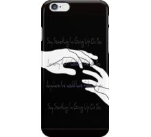 A Great Big World - Say Something iPhone Case/Skin