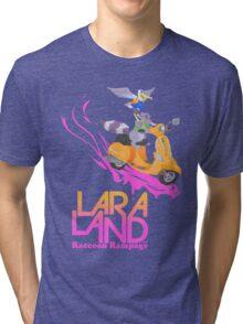 Lara Land - Raccoon Rampage Tri-blend T-Shirt