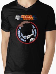 Hyper Space Mens V-Neck T-Shirt