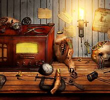 Steampunk - Repairing a friendship by Mike  Savad