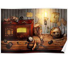 Steampunk - Repairing a friendship Poster