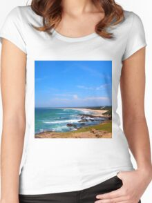 Brooms Head Northern NSW Australia Women's Fitted Scoop T-Shirt