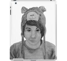 Pencil Sketch - danisnotonfire iPad Case/Skin