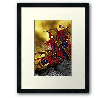Spider Man Sorcerer Framed Print