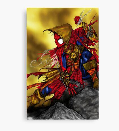 Spider Man Sorcerer Canvas Print