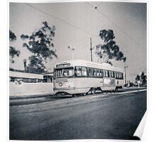 Vintage Streetcar Trolley 4038 Poster