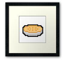 Pixel Pie Framed Print