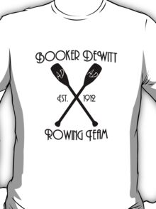 Booker DeWitt Rowing Team T-Shirt