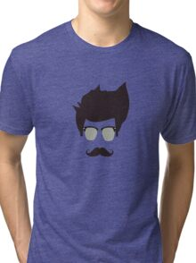 Cool moustache Tri-blend T-Shirt