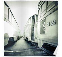 Vintage Streetcar Trolley 4148 Poster