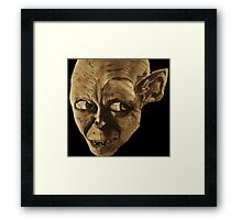 Gollum The Lord of the Rings Framed Print