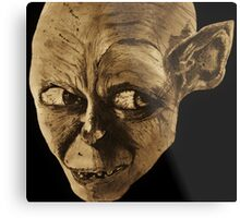 Gollum The Lord of the Rings Metal Print