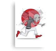 Run Mo'Fo Run Canvas Print