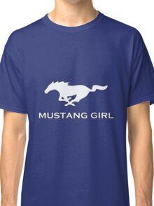Mustang Girl Classic T-Shirt