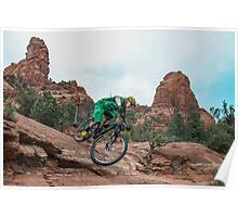 Sedona Riding Bliss Poster