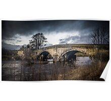 Bolton Abbey Bridge Poster