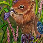 Red Squirrel by Tricia Winwood