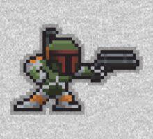 8-Bit Bounty Hunter Kids Clothes