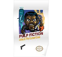 Pulp Fiction: 8 Bit Style Poster