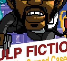 Pulp Fiction: 8 Bit Style Sticker