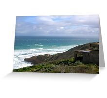 Seascape - Point Nepean, Victoria, Australia Greeting Card