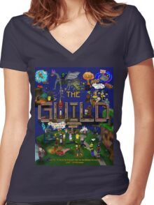The Guild Women's Fitted V-Neck T-Shirt
