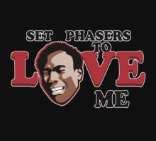 Set Phasers to Love One Piece - Short Sleeve