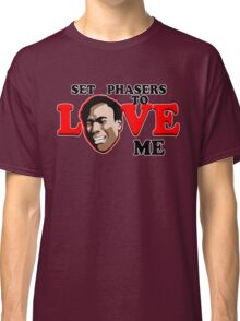 Set Phasers to Love Classic T-Shirt