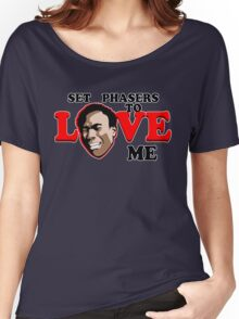 Set Phasers to Love Women's Relaxed Fit T-Shirt