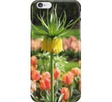 Upside down tulip. iPhone Case/Skin