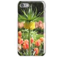 Upside down tulip. iPhone Case/Skin